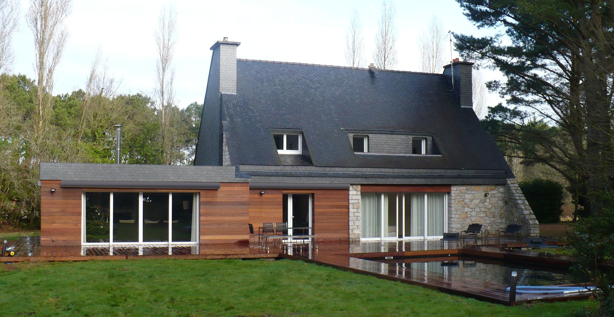 la trinit sur mer extension couedel design herve couedel architecte d 39 interieur muzillac. Black Bedroom Furniture Sets. Home Design Ideas