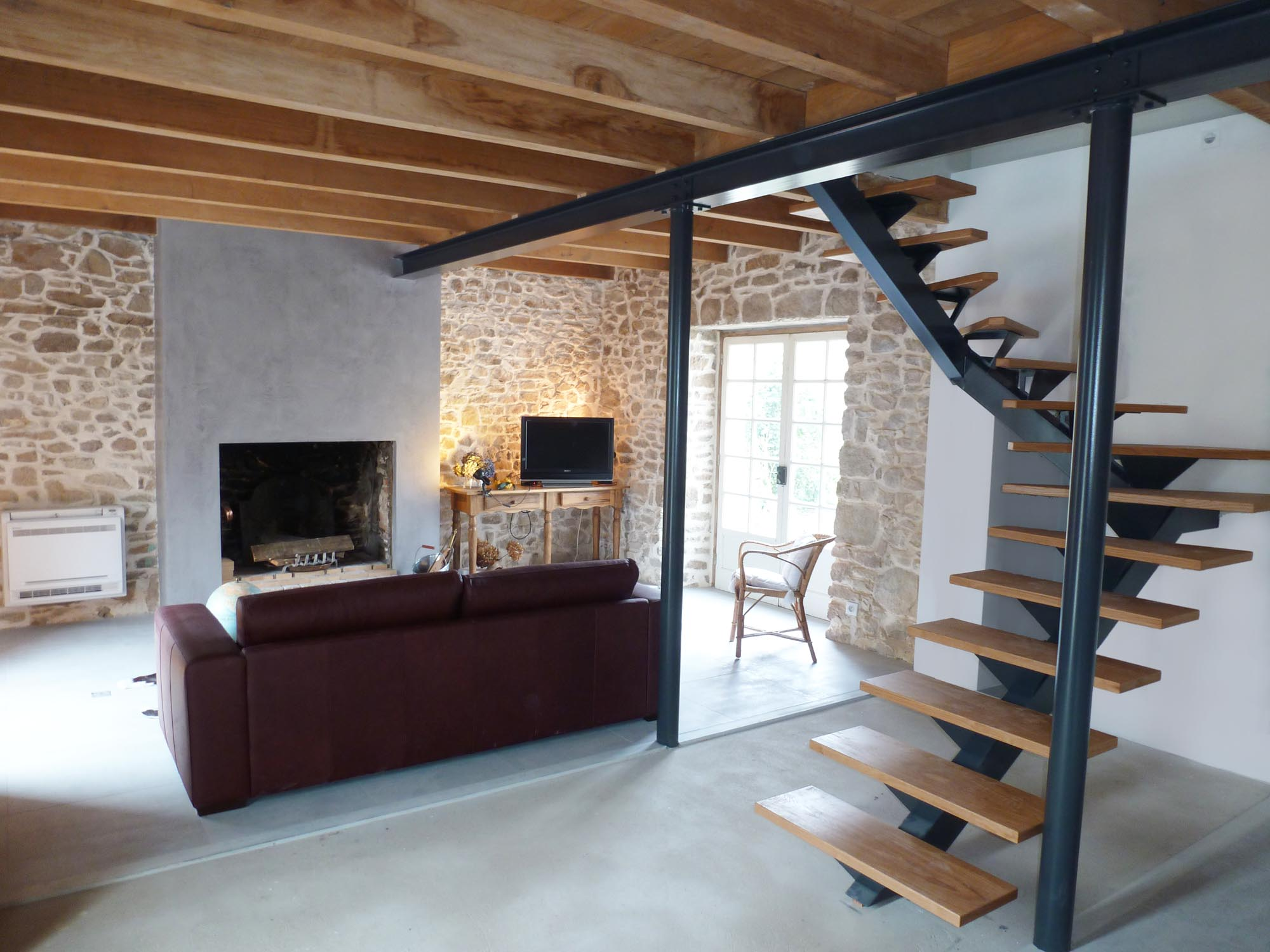 R novation theix par herv couedel muzillac sarzeau - Renovation maison ancienne architecte ...