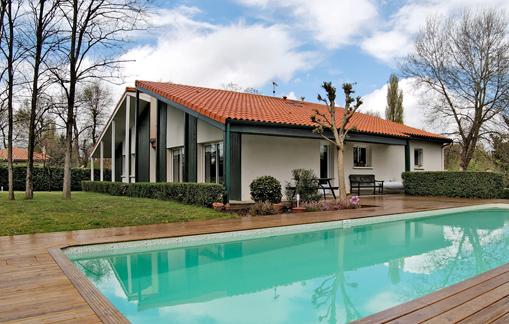 maison r gion bordeaux fa ade sud est couedel design herve couedel architecte d 39 interieur. Black Bedroom Furniture Sets. Home Design Ideas