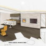 architecte intérieur sarzeau, rénovation de maison muzillac, couedel design