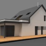 Projet en cours de construction: Résidence principale à Muzillac dans le Morbihan. RT 2012 avec Isolation par l'extérieur